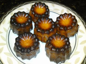 A Tray of Canele